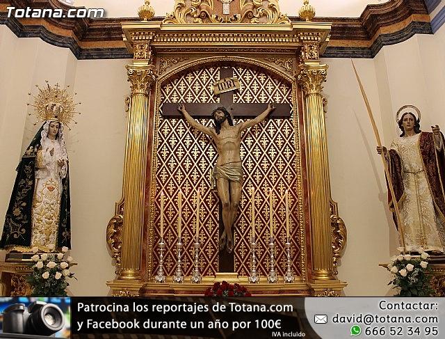 BENDICIÓN DEL NUEVO RETABLO para la imagen del Stmo. Cristo de la Agonía - 4