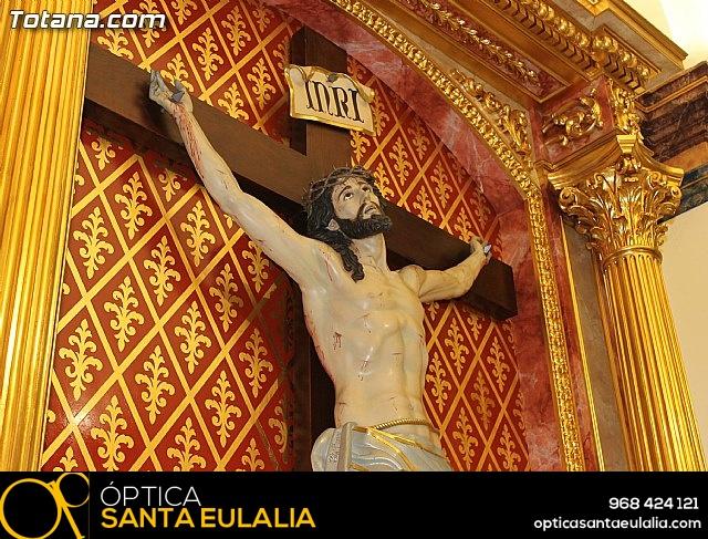 BENDICIÓN DEL NUEVO RETABLO para la imagen del Stmo. Cristo de la Agonía - 13