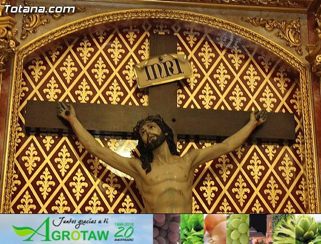 BENDICIÓN DEL NUEVO RETABLO para la imagen del Stmo. Cristo de la Agonía - 21