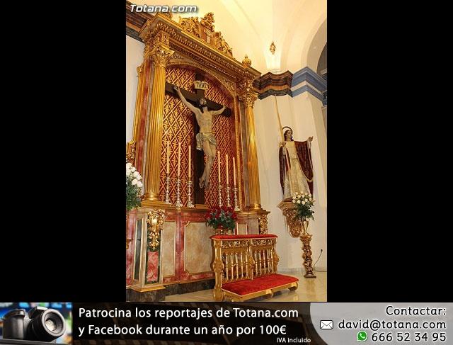 BENDICIÓN DEL NUEVO RETABLO para la imagen del Stmo. Cristo de la Agonía - 28