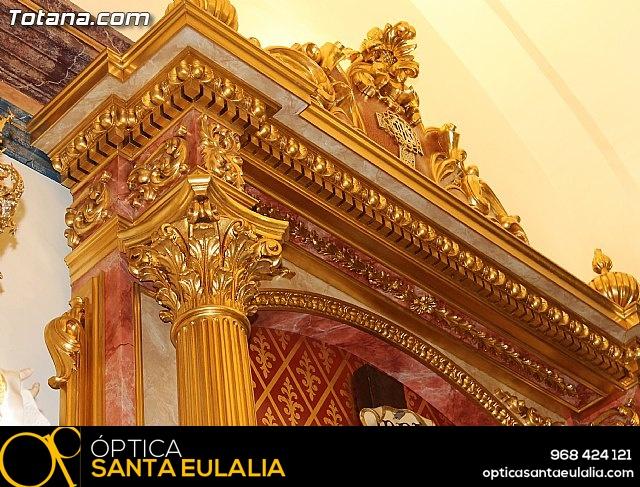 BENDICIÓN DEL NUEVO RETABLO para la imagen del Stmo. Cristo de la Agonía - 40