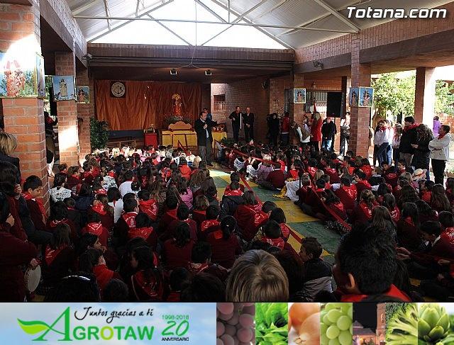 Romería infantil. Colegios Reina Sofía y Santa Eulalia. Totana 2012 - 1