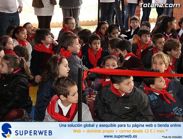 Romería infantil. Colegios Reina Sofía y Santa Eulalia. Totana 2012 - 13