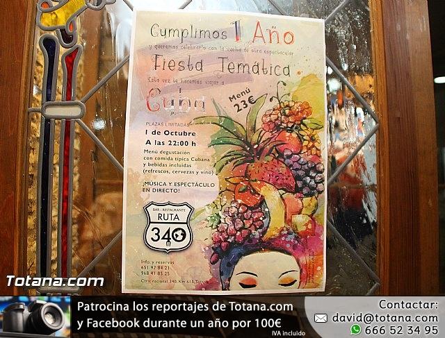 Bar-Restaurante Ruta 340 celebró su primer aniversario con una fiesta temática cubana - 3