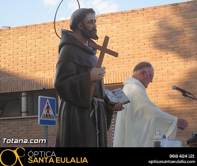 Misa y procesión barrio de San Francisco 2016 - 2