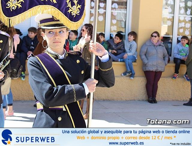 Procesión infantil Semana Santa 2018 - Colegio Santiago - 11