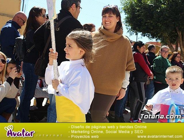 Procesión infantil Semana Santa 2018 - Colegio Santiago - 23