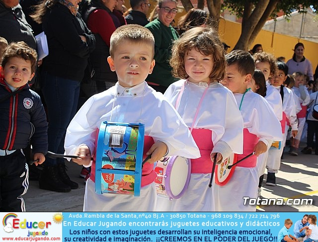 Procesión infantil Semana Santa 2018 - Colegio Santiago - 24