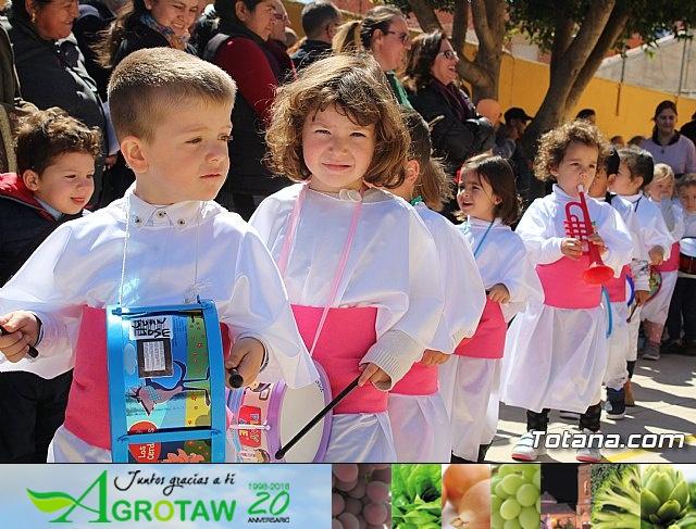 Procesión infantil Semana Santa 2018 - Colegio Santiago - 25