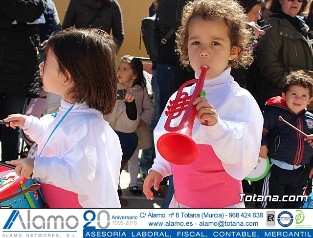Procesión infantil Semana Santa 2018 - Colegio Santiago - 29