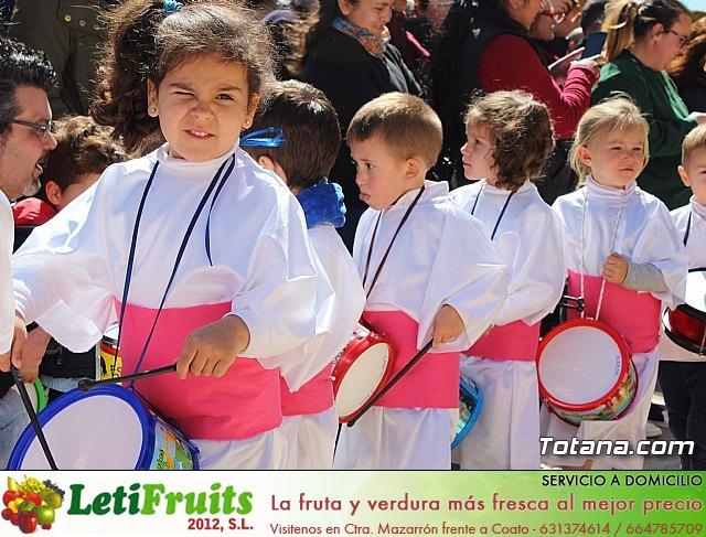 Procesión infantil Semana Santa 2018 - Colegio Santiago - 31