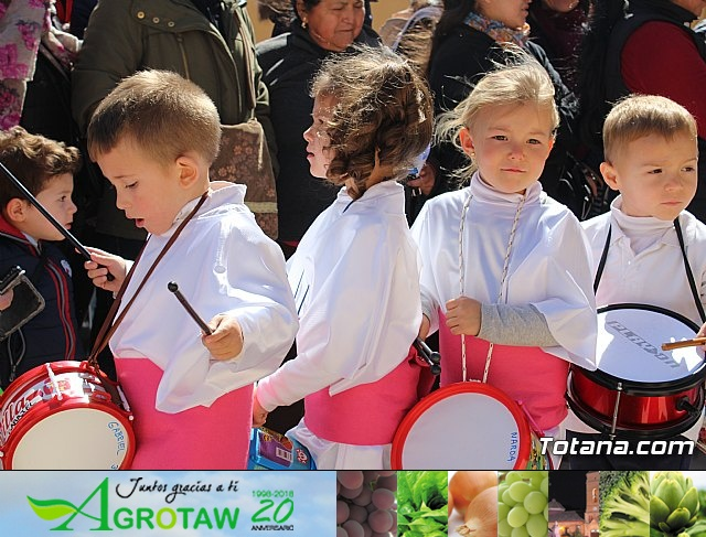 Procesión infantil Semana Santa 2018 - Colegio Santiago - 33