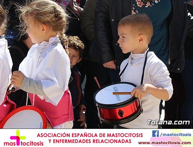 Procesión infantil Semana Santa 2018 - Colegio Santiago - 34