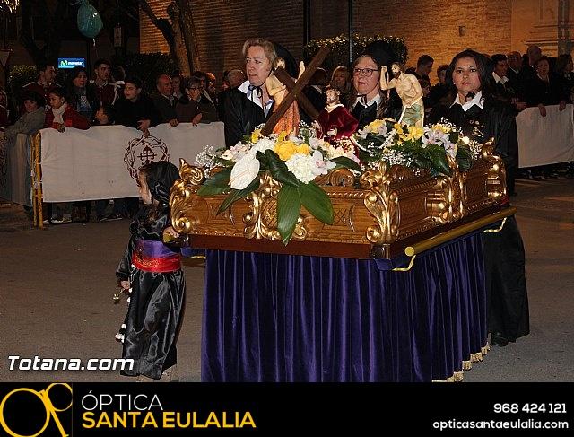 Procesión del Santo Entierro  - Viernes Santo - Semana Santa Totana 2016 - 17