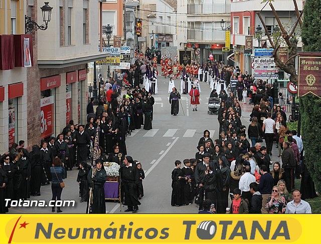 Traslado Santo Sepulcro 2016 - Tronos Viernes Santo noche - 1
