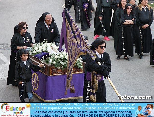 Traslado Santo Sepulcro y la Samaritana (luto) - Viernes Santo 2017 - 4