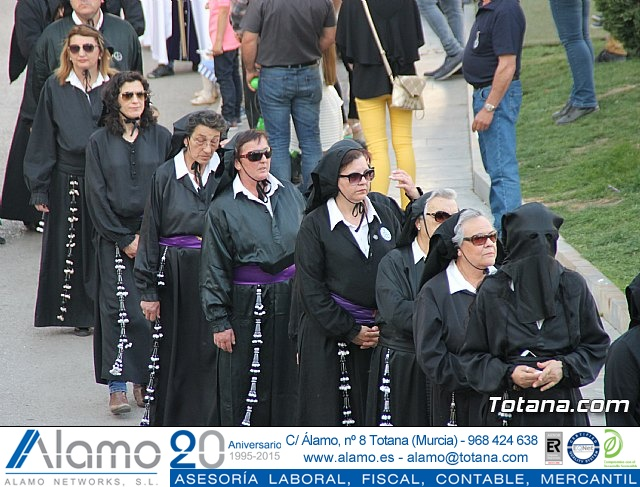 Traslado Santo Sepulcro y la Samaritana (luto) - Viernes Santo 2017 - 9