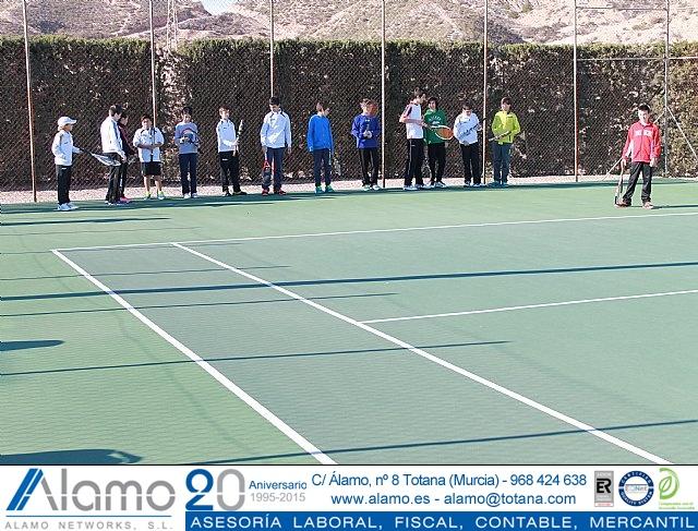 Fiesta de Navidad 2014 de la Escuela del Club de Tenis Totana - 1