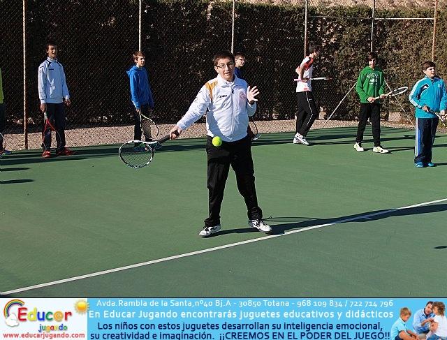 Fiesta de Navidad 2014 de la Escuela del Club de Tenis Totana - 21