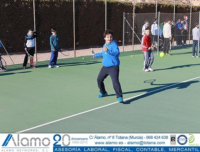 Fiesta de Navidad 2014 de la Escuela del Club de Tenis Totana - 35