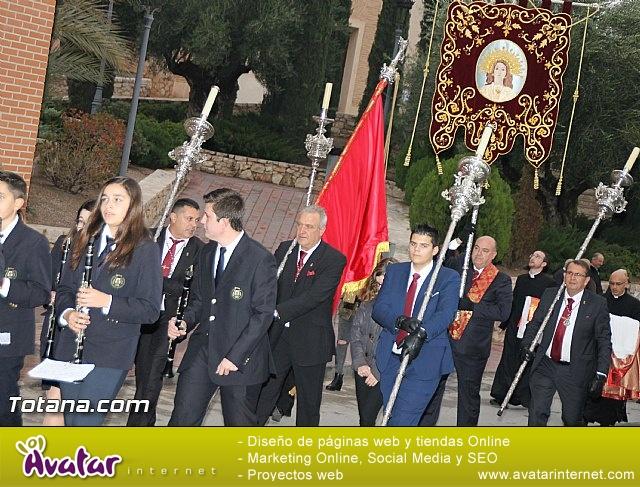 Traslado Santa Eulalia desde la ermita de San Roque a la parroquia de Santiago - 2016 - 17