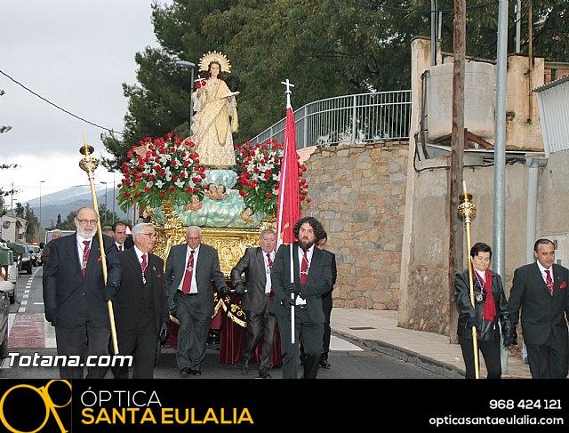 Traslado Santa Eulalia desde la ermita de San Roque a la parroquia de Santiago - 2016 - 22