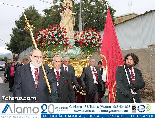 Traslado Santa Eulalia desde la ermita de San Roque a la parroquia de Santiago - 2016 - 24