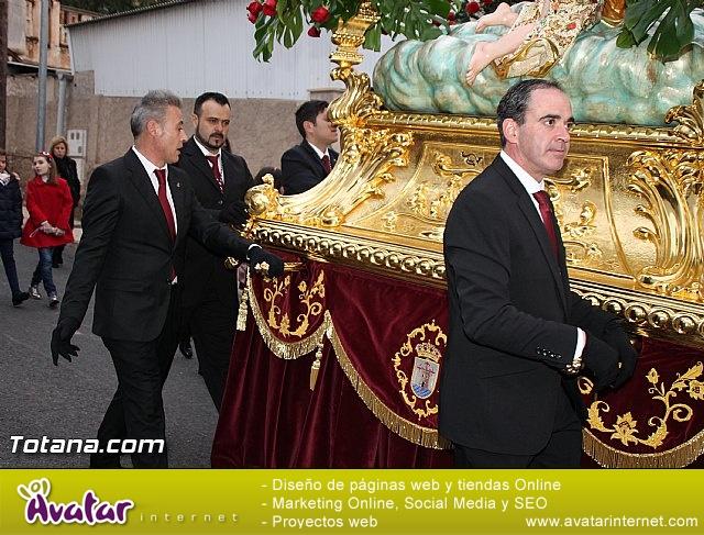 Traslado Santa Eulalia desde la ermita de San Roque a la parroquia de Santiago - 2016 - 26