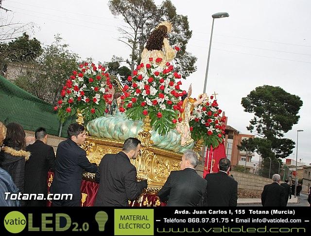 Traslado Santa Eulalia desde la ermita de San Roque a la parroquia de Santiago - 2016 - 29