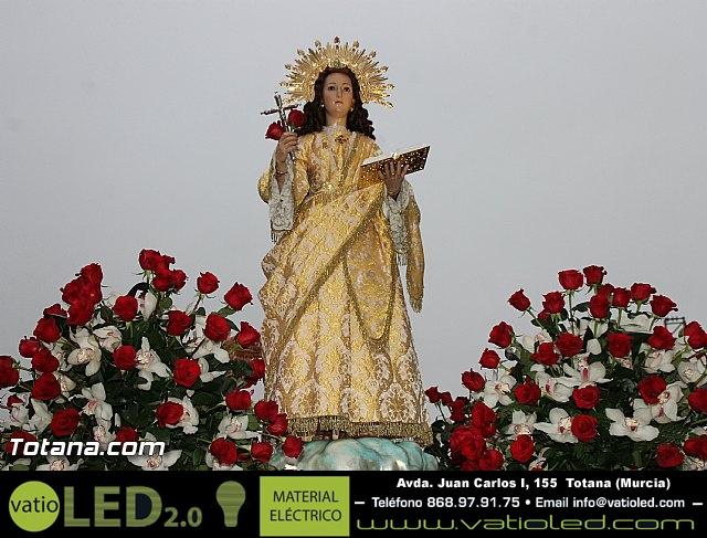 Traslado Santa Eulalia desde la ermita de San Roque a la parroquia de Santiago - 2016 - 33