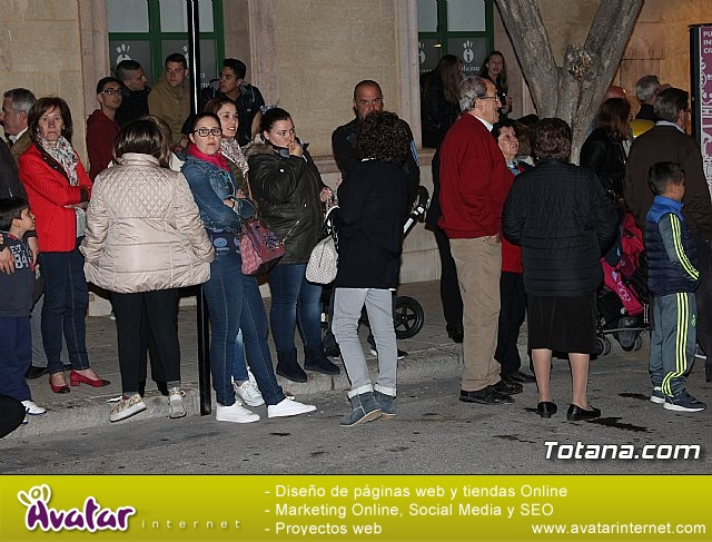 Traslado de pasos. Noche del Lunes Santo 2017 - 20