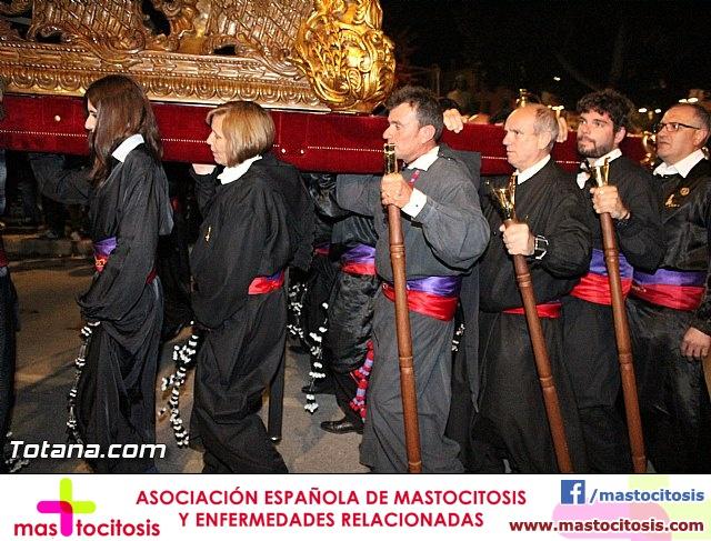 Traslado de los tronos a sus sedes. Viernes Santo 2015 - 32