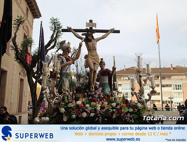 Traslados de los tronos a sus sedes tras la suspensión de la procesión del Santo Entierro 2019 - 1
