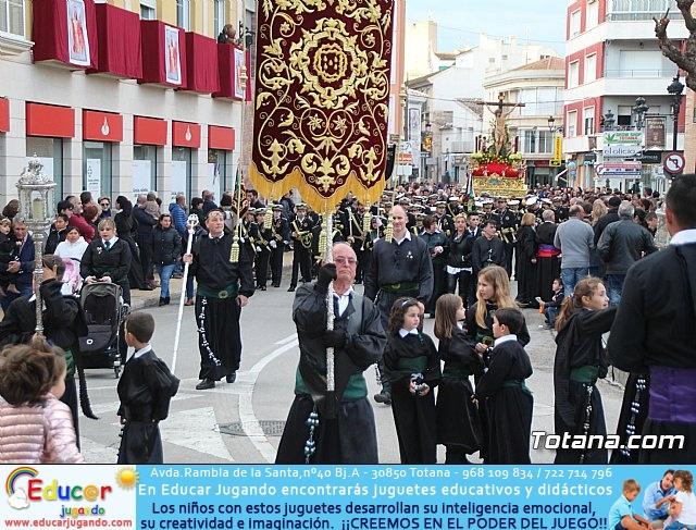 Traslados de los tronos a sus sedes tras la suspensión de la procesión del Santo Entierro 2019 - 18