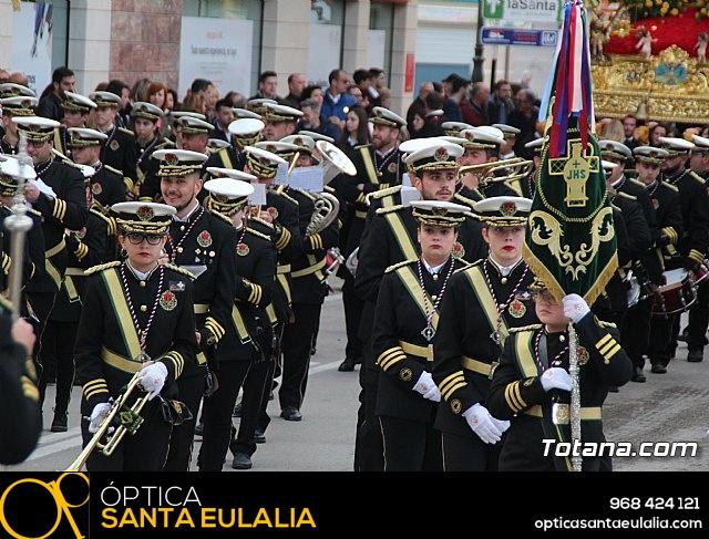 Traslados de los tronos a sus sedes tras la suspensión de la procesión del Santo Entierro 2019 - 26