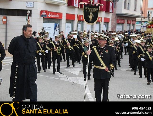 Traslados de los tronos a sus sedes tras la suspensión de la procesión del Santo Entierro 2019 - 28