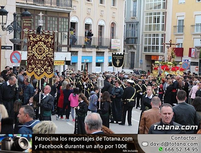 Traslados de los tronos a sus sedes tras la suspensión de la procesión del Santo Entierro 2019 - 34