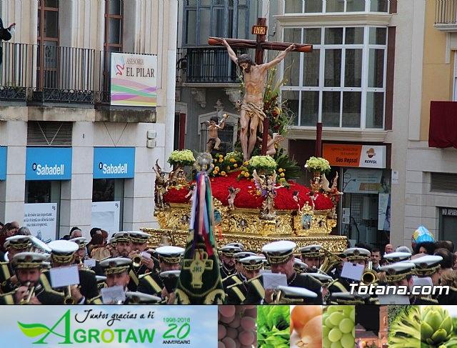 Traslados de los tronos a sus sedes tras la suspensión de la procesión del Santo Entierro 2019 - 35