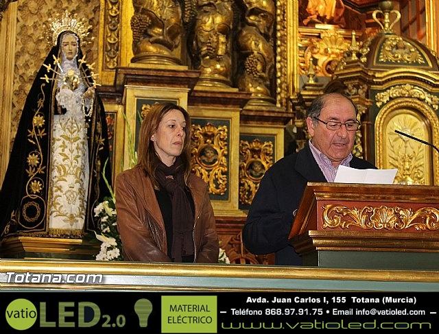 Triduo en honor a Nuestra Señora de los Dolores (I) - 2013 - 3