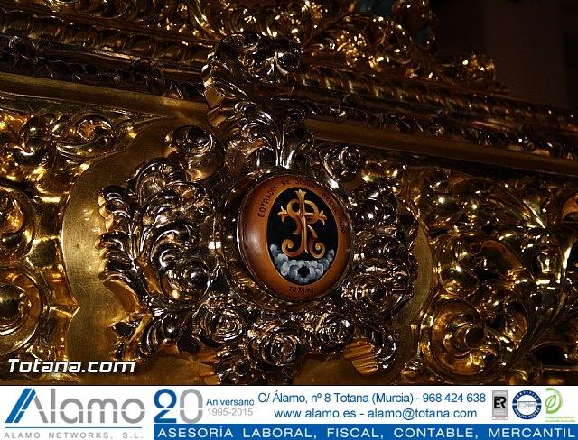 Bendición del nuevo trono de la Cofradía de Jesús Resucitado - 10