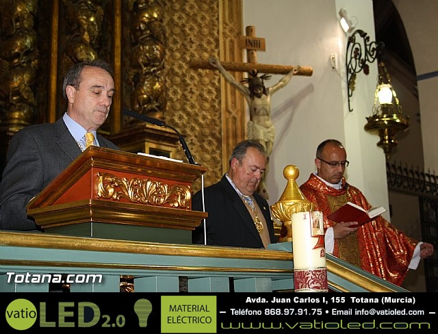 Bendición del nuevo trono de la Cofradía de Jesús Resucitado - 22
