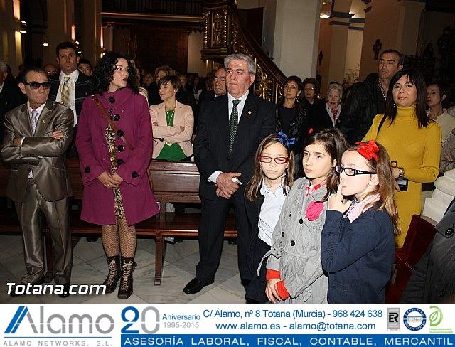 Bendición del nuevo trono de la Cofradía de Jesús Resucitado - 26