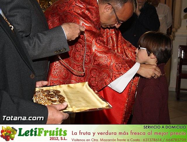 Bendición del nuevo trono de la Cofradía de Jesús Resucitado - 39