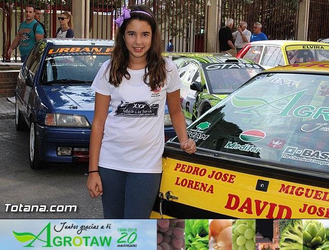 Verificaciones técnicas coches XXX Subida a La Santa 2015 - 24