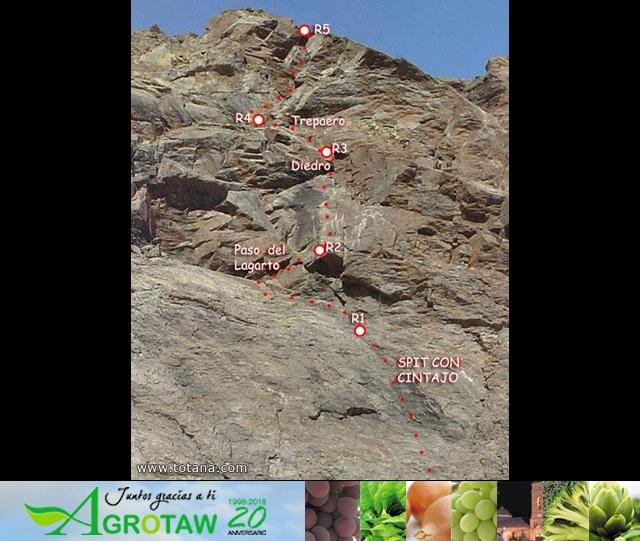 Vía Silvia, Noroeste Veleta Sierra Nevada (Julio 2014) - 1