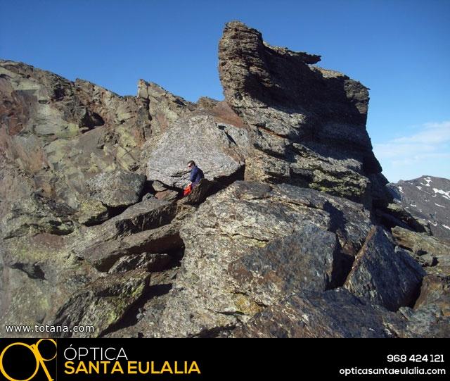 Vía Silvia, Noroeste Veleta Sierra Nevada (Julio 2014) - 7