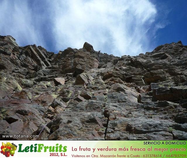 Vía Silvia, Noroeste Veleta Sierra Nevada (Julio 2014) - 12
