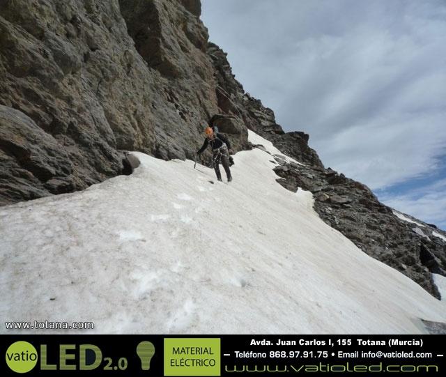 Vía Silvia, Noroeste Veleta Sierra Nevada (Julio 2014) - 19
