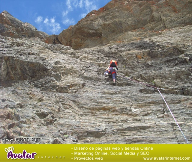 Vía Silvia, Noroeste Veleta Sierra Nevada (Julio 2014) - 26