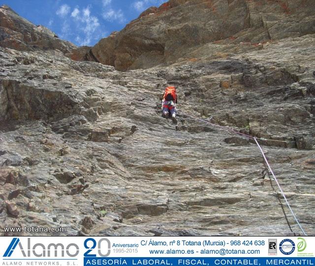 Vía Silvia, Noroeste Veleta Sierra Nevada (Julio 2014) - 27